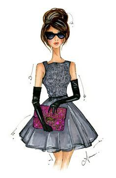 Fashion Clip Art For Women.
