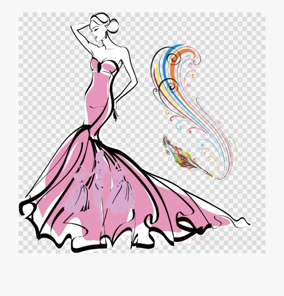Fashion Clipart Illustration.