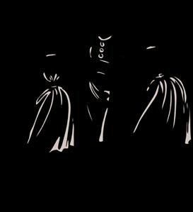 Fashion Designer Silhouette PNG, SVG Clip art for Web.