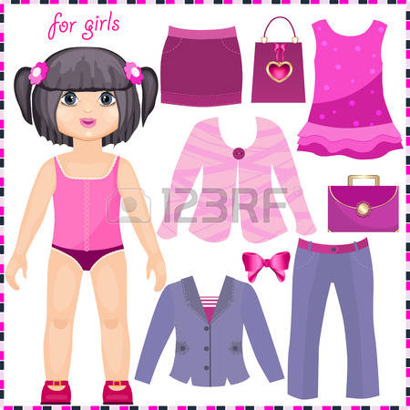 Fashion Doll Cliparts, Stock Vector And Royalty Free Fashion Doll.