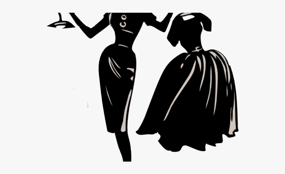 Black Dress Clipart Small Dress.