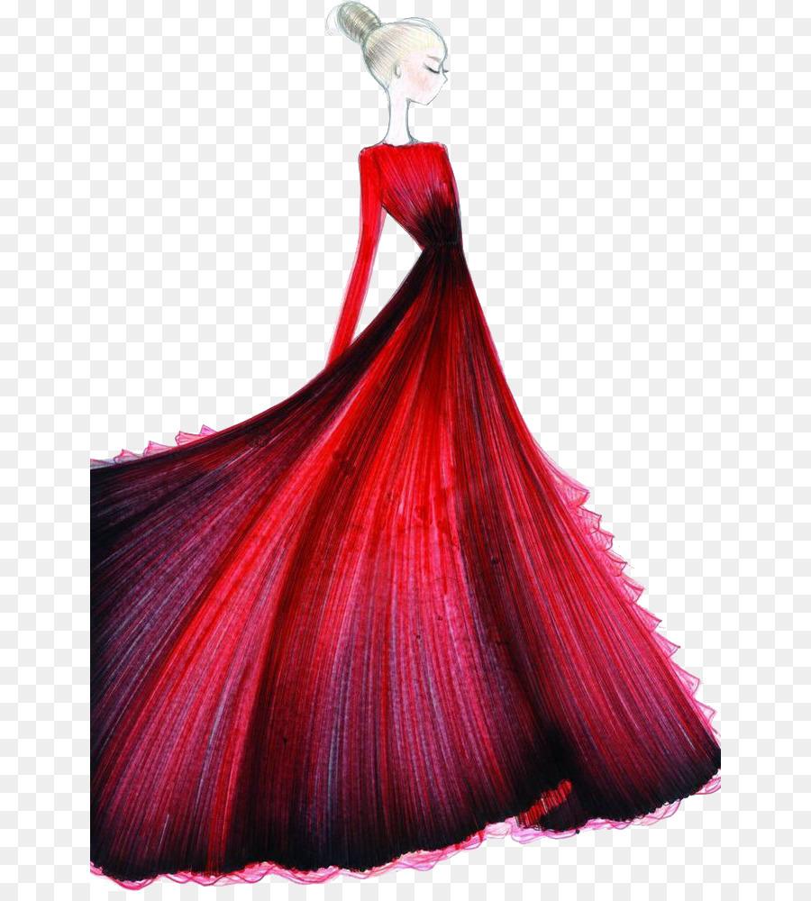 Wedding Dress Drawing 700*989 transprent Png Free Download.