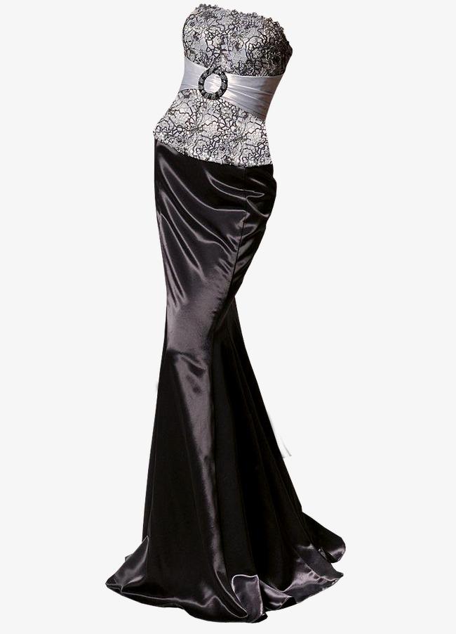 Black Evening Dress, Women Fashion, Eleg #108874.