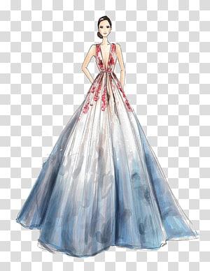 Fashion illustration Drawing Illustrator Illustration, Elegant Girl.