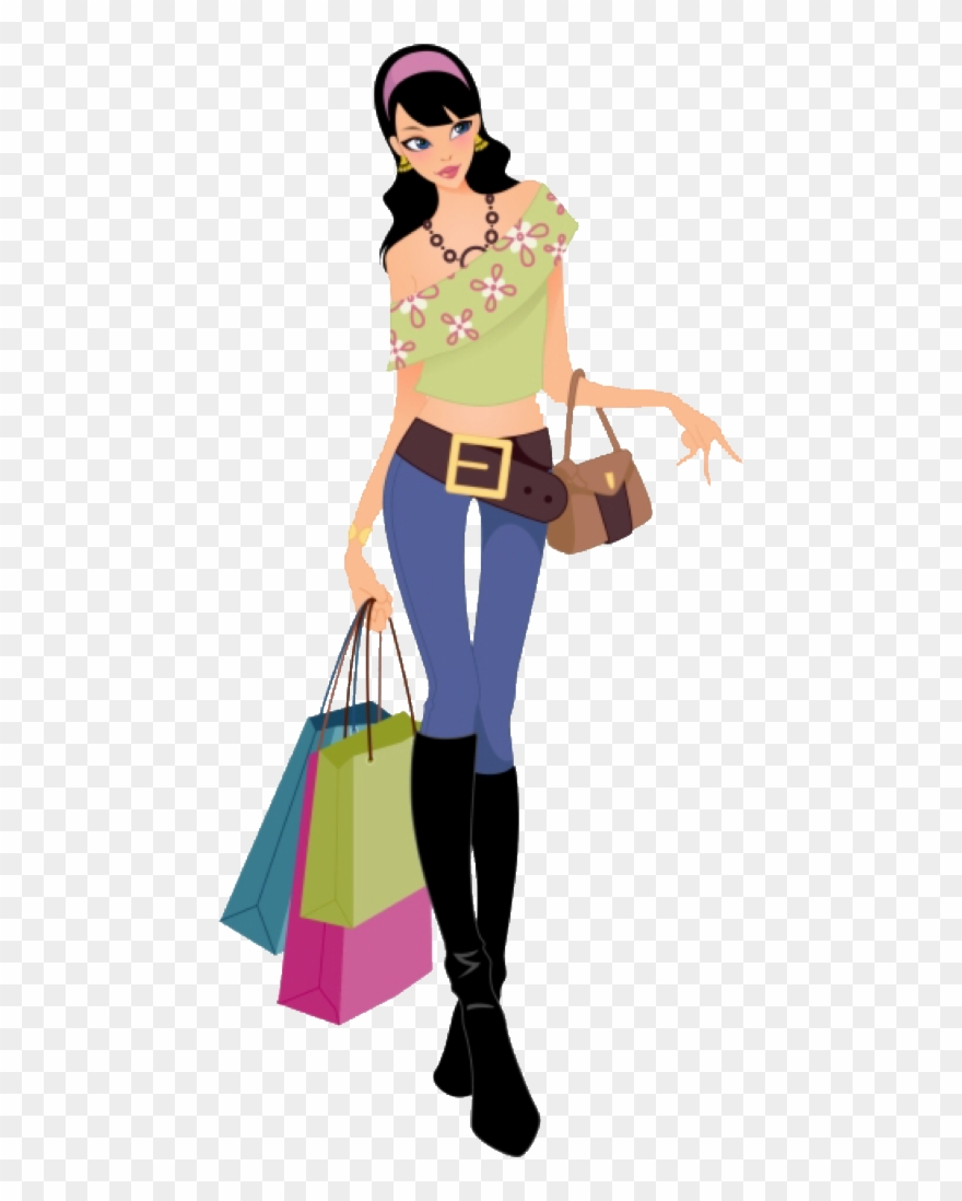 Fashion Girl Vector Png Clipart (#1489685).