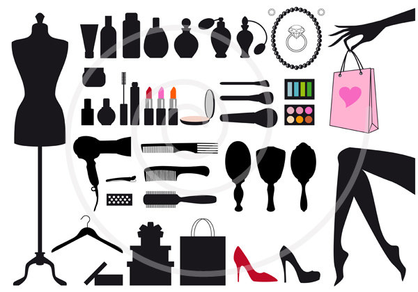 Fashion Clip Art For Women.