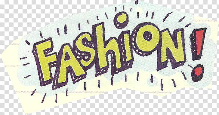 Magazine Cuts Part , Fashion text transparent background PNG.