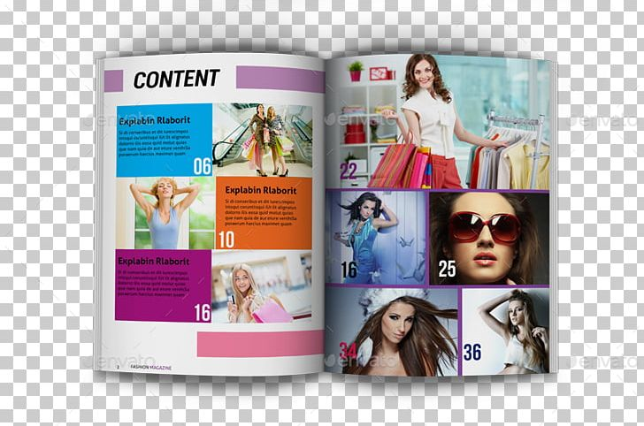 Magazine Fashion Template Brochure PNG, Clipart, Art, Brand.