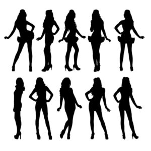 Fashion Model Silhouette Clip Art at GetDrawings.com.