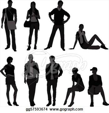 Fashion Models Clipart