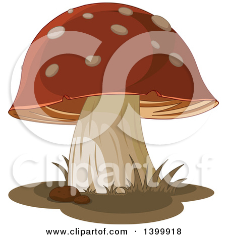 Royalty Free Stock Illustrations of Mushrooms by Pushkin Page 1.