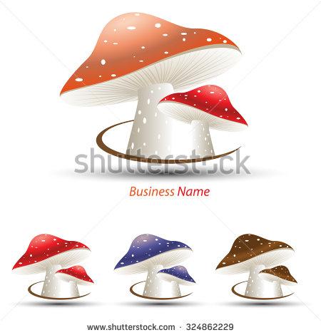 Mushroom Logo Stock Photos, Royalty.