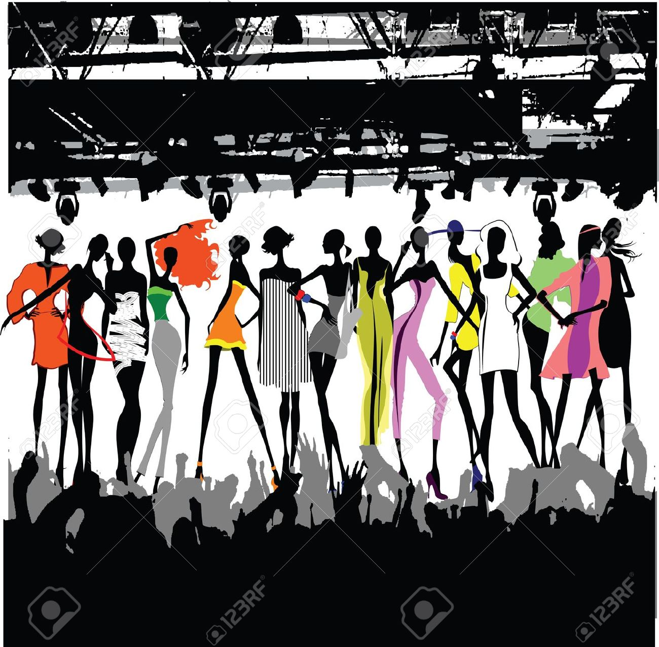 Runway fashion clipart 8 » Clipart Station.