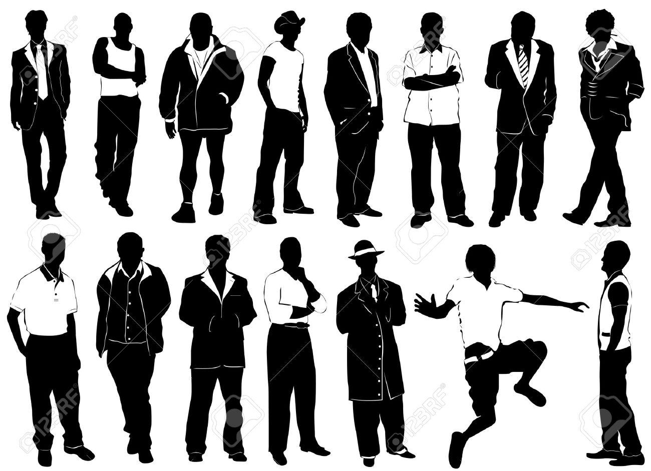Fashion Men Vector (clothes Detail) Royalty Free Cliparts, Vectors.