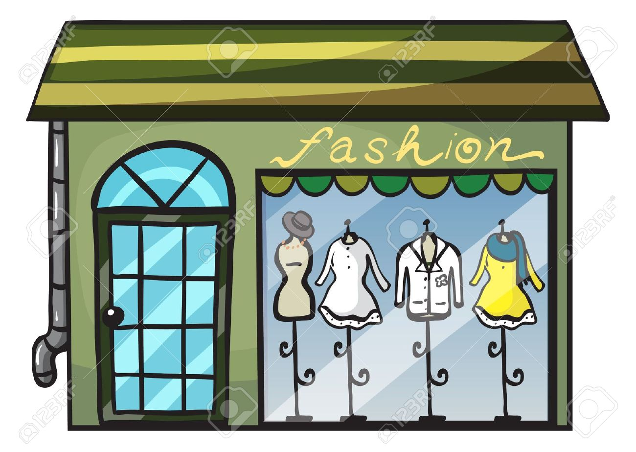 Showing post & media for Fashion store cartoon.