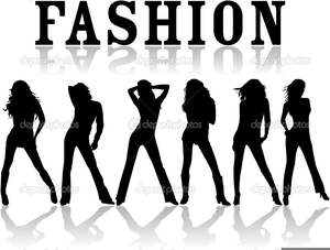 Free Fashion Show Runway Clipart.
