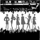 Fashion Show Clip Art.
