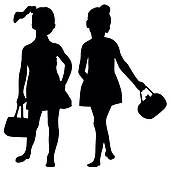 Youth Fashion Show Clipart.