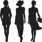 Senior Fashion Show Clipart.