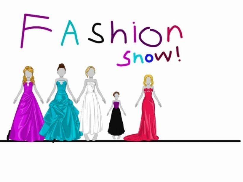 Fashion Show Clipart Images.