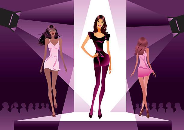 Best Fashion Show Illustrations, Royalty.