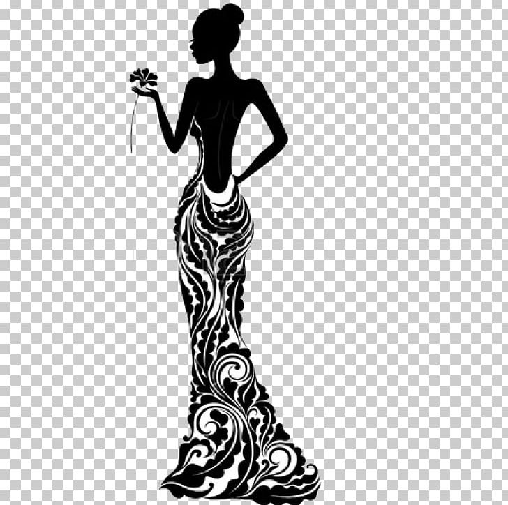 Dress Silhouette Fashion Stock Photography PNG, Clipart, Arm.