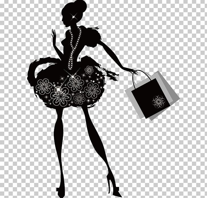 Shopping Silhouette PNG, Clipart, Business Woman, Designer.