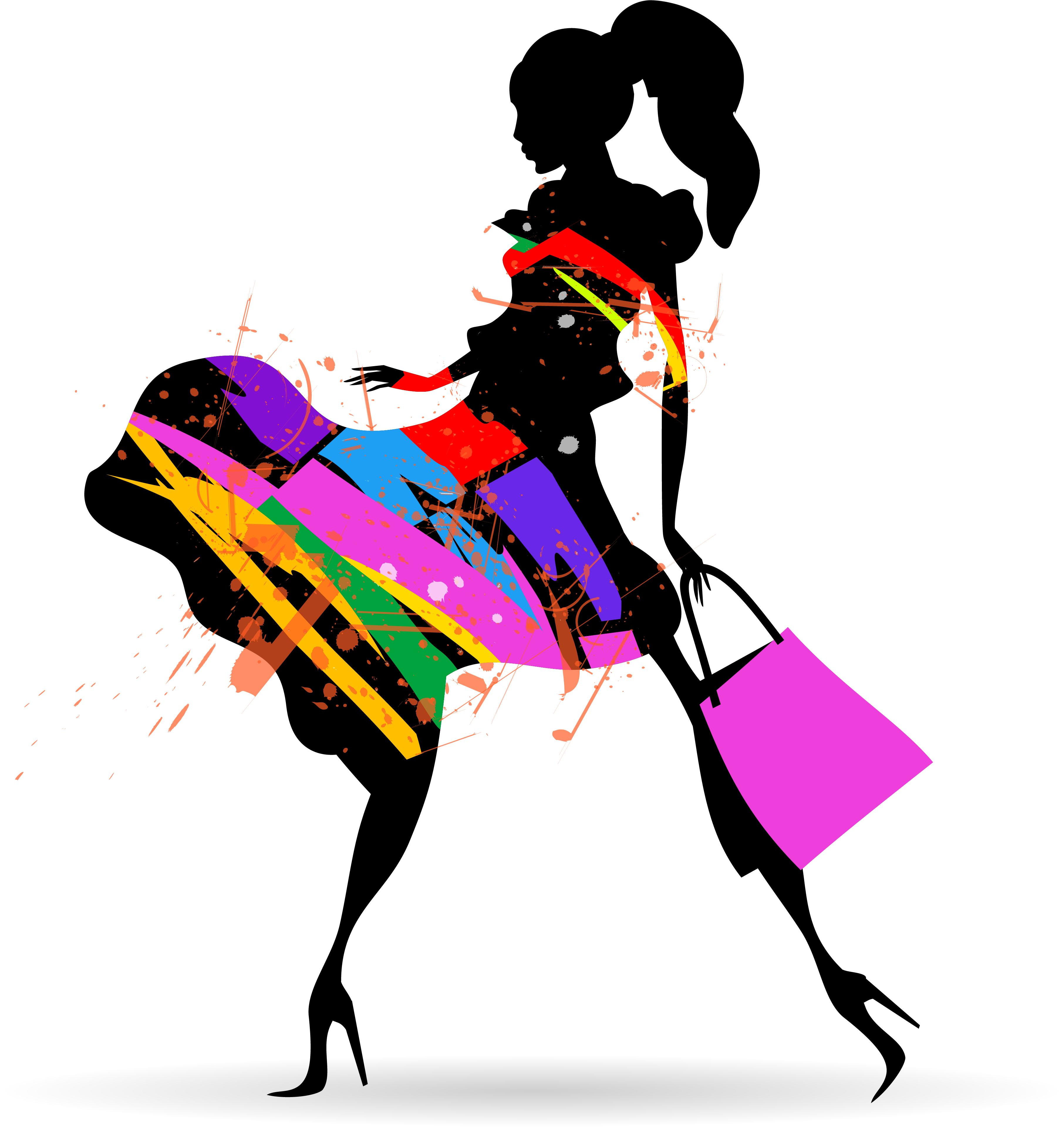 Fashion clipart vector, Fashion vector Transparent FREE for.