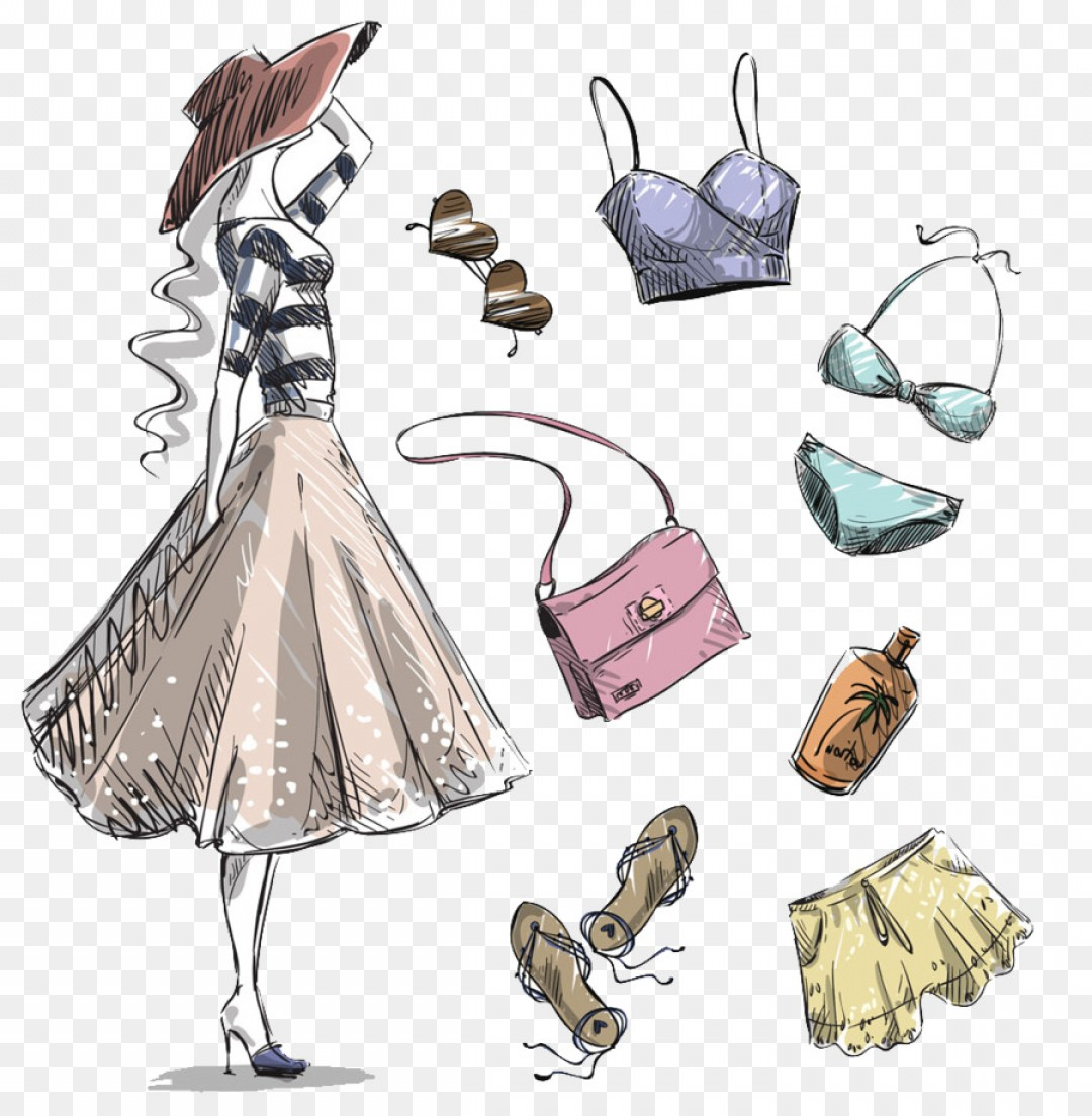 Png Vector Graphics Fashion Illustration Clothing Draw.