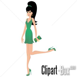 Ladies Fashion Clipart.