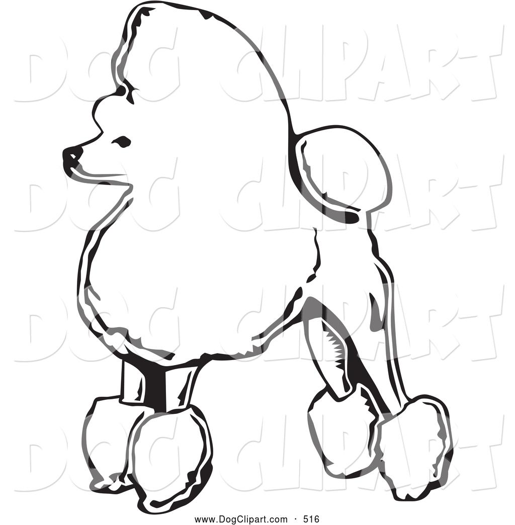 Dog clipart profile.