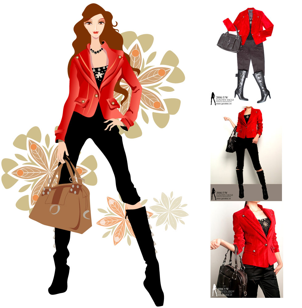 Fashion clip art borders free clipart images.