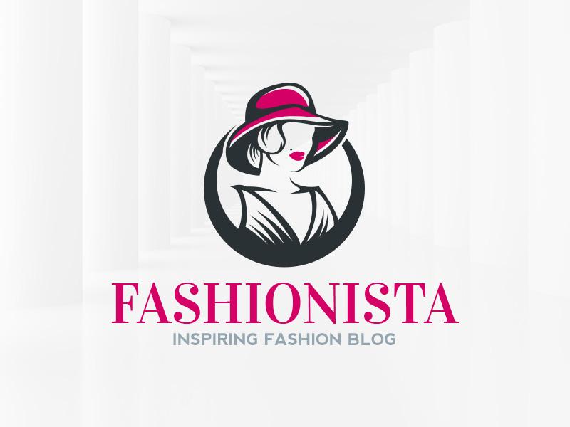 Fashionista Logo Template by Alex Broekhuizen on Dribbble.