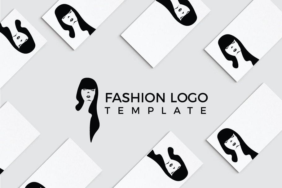 Fashionista Logo Template.
