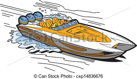 Speedboat Illustrations and Clipart. 911 Speedboat royalty free.