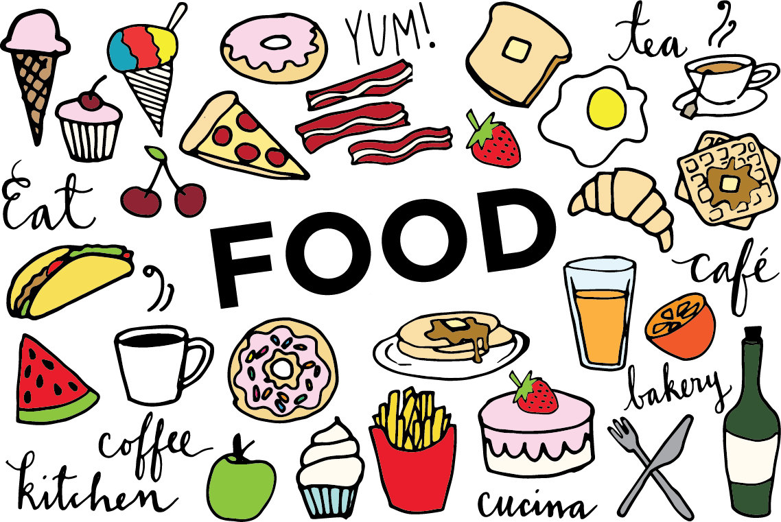 food clipart pictures #1