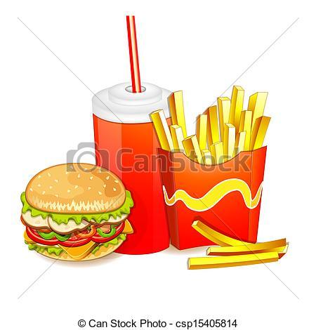fast food clip art.