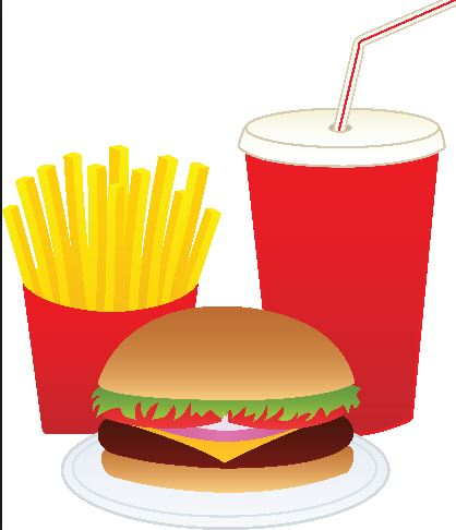 Mcdonald's Fast Food Clipart.