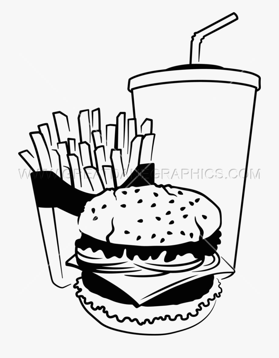 Clip Art Royalty Free Fast Food Drawing At.
