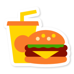 Fast Food Icon.