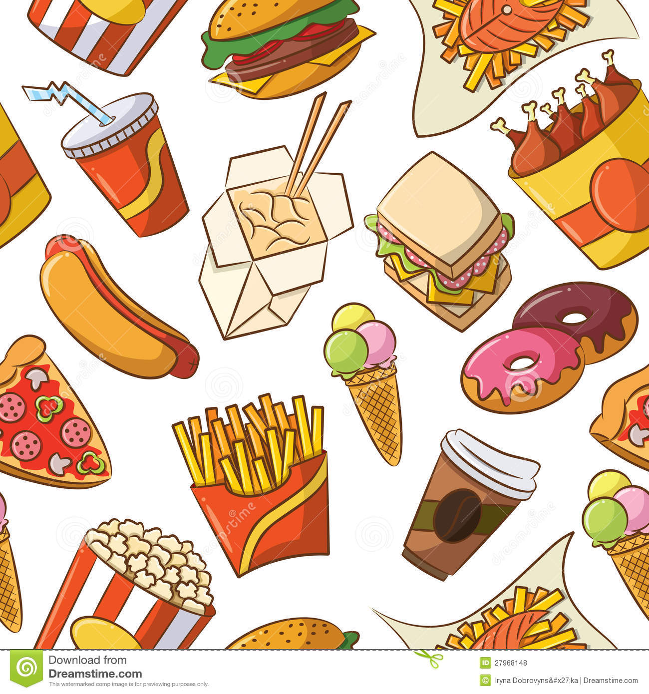 Fast Food Junk Clipart 20 Free Cliparts Download Images