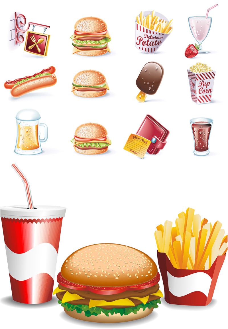 1000+ images about fast food clip art on Pinterest.