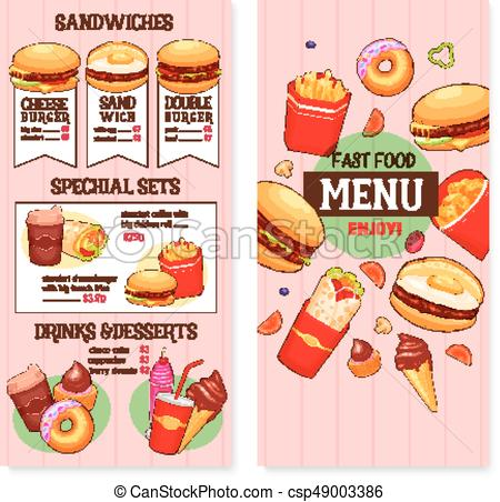 2733 Fast Food free clipart.