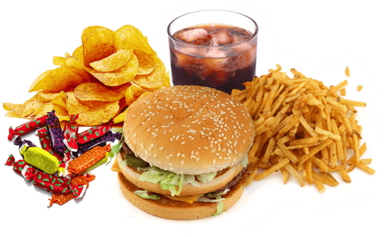 Fast Food PNG High.