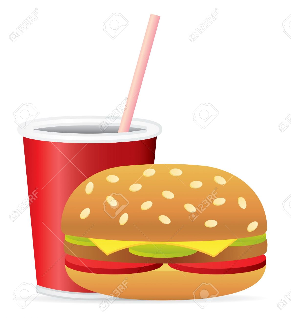 Fast food images clip art.