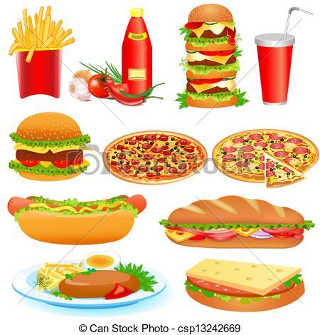 Fast food images clip art.