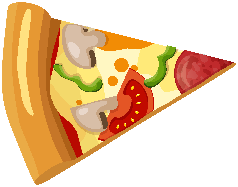 Pizza Slice PNG Clip Art.