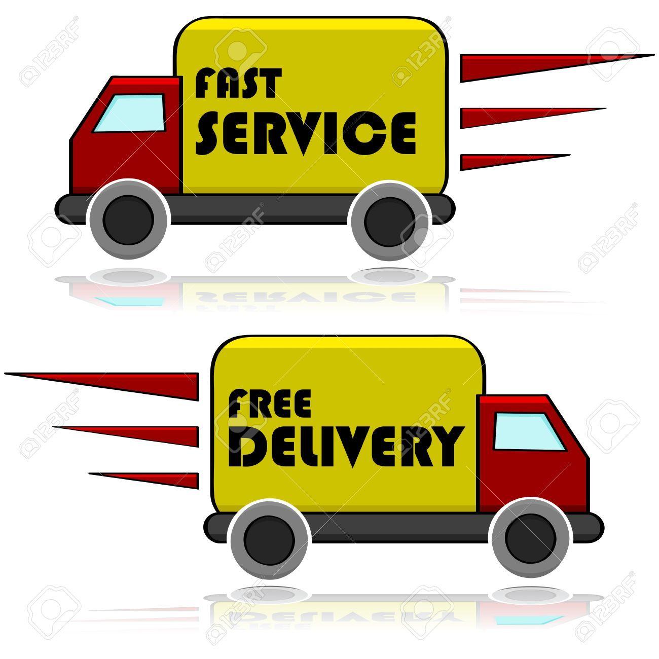 Fast truck clipart 4 » Clipart Portal.