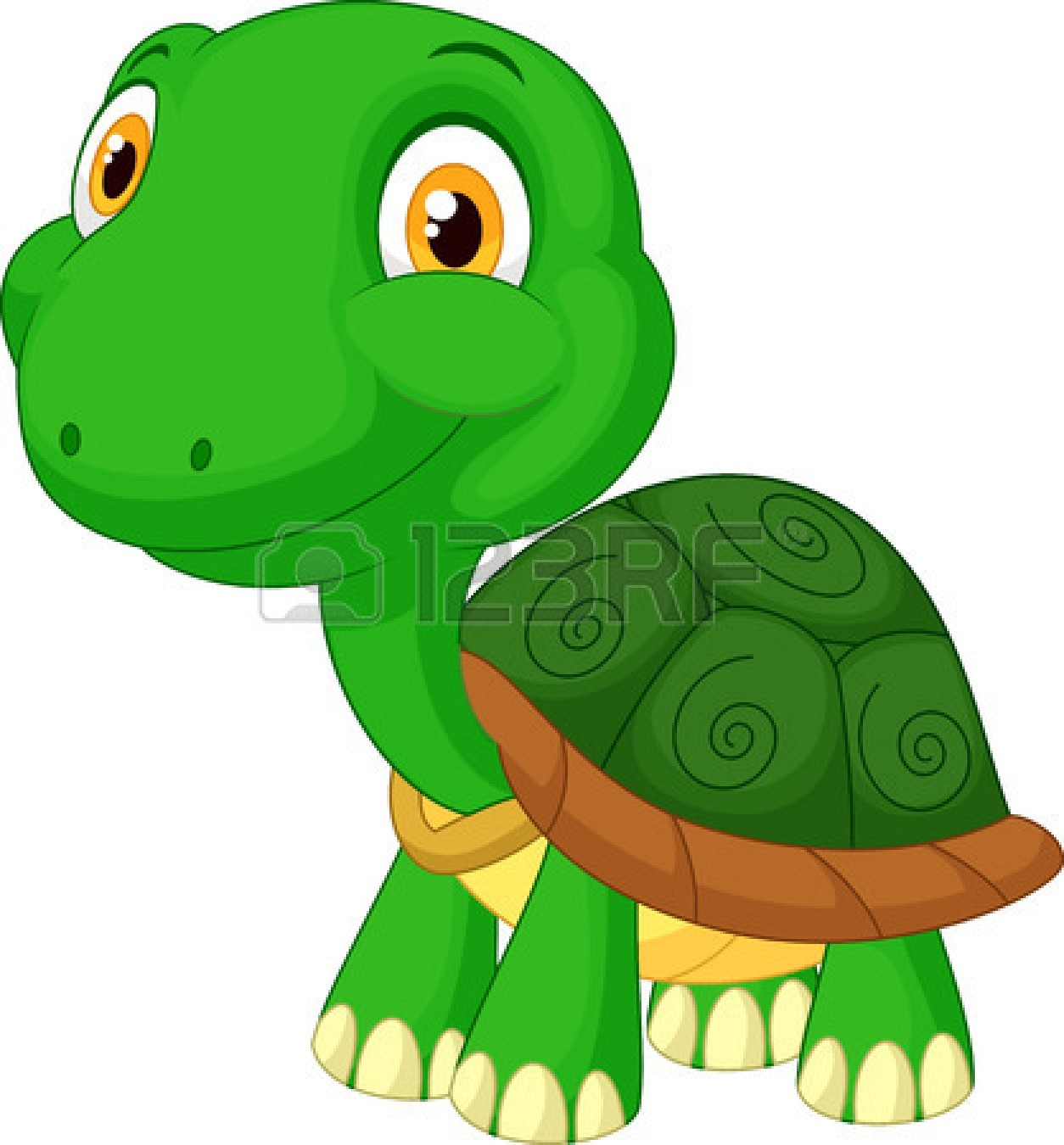 Fast turtle clipart.