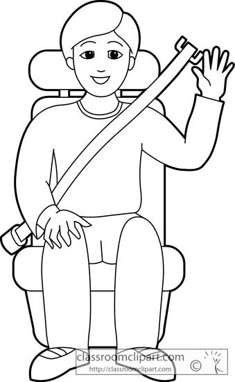 Seat Belt Clipart.